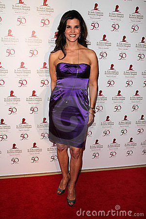 Lu Parker at the St. Jude Children s Research Hospital 50th Anniversary Gala, Beverly Hilton, Beverly Hills, CA 01-07-12 Editorial Photography