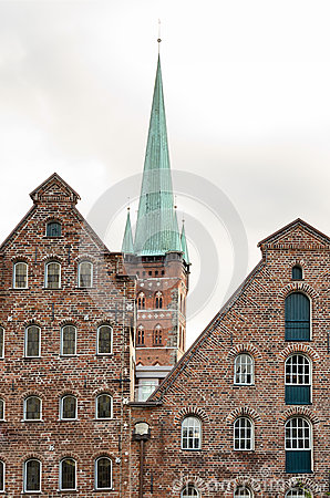 Lubeck, a Church Tower