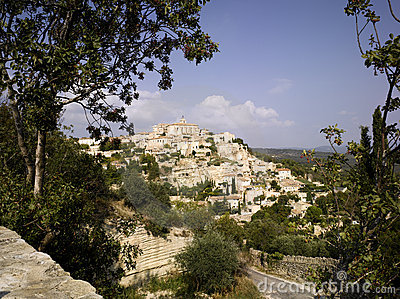 Luberon: city of Gordes