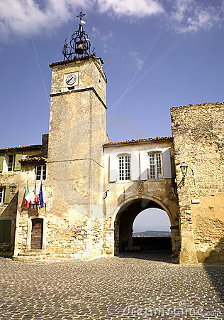 Luberon: city of Menerbes