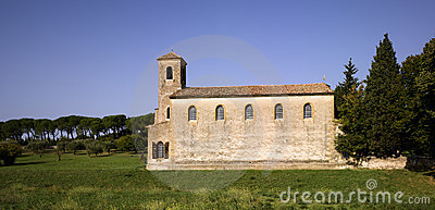 Luberon, Lourmarin: The Protestant Temple