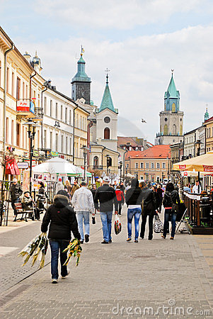 Lublin, Poland Editorial Stock Image