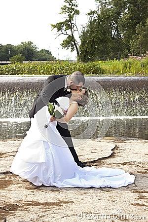 Ślubny buziak