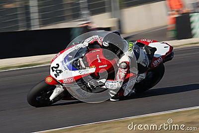 Luca Conforti - Ducati 1198R - Althea Racing Editorial Stock Photo