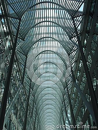 Lucarne bleue à Toronto