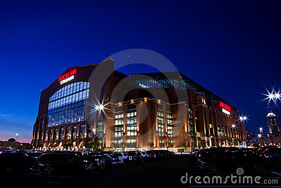 Lucas Oil Stadium Editorial Photo