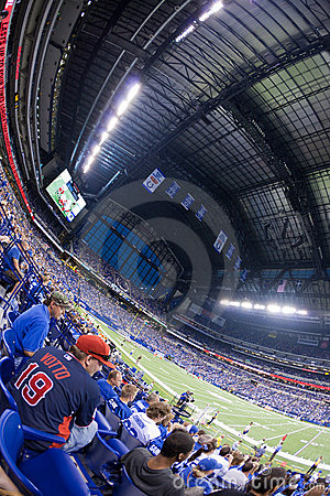 Lucas Oil stadium Editorial Image