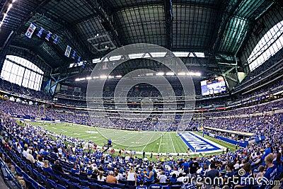 Lucas Oil stadium Editorial Photo