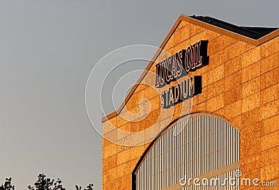 Lucas Oil Stadium Editorial Photography