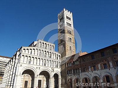 Lucca Cathedral Of St Martin