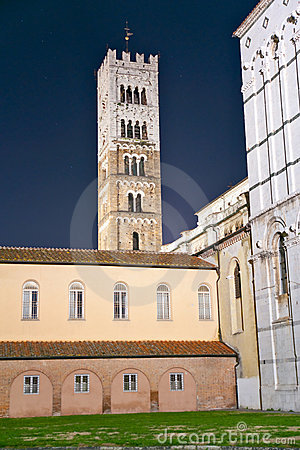 Lucca - view of St Martin s Cathedral.