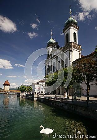 Lucerne Jesuit Church