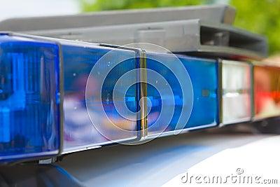 Luces de la policía