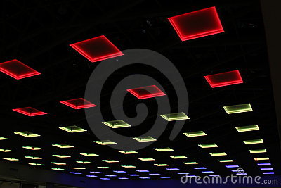 Luces en el techo