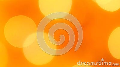 Luces rojas-anaranjadas en bokeh blur Fijado Concepto, Navidad y celebración de Año Nuevo metrajes