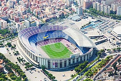 Camp Nou Außen