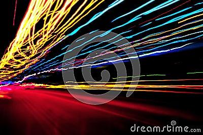 luci colorate neon fotografie stock immagine 30782913