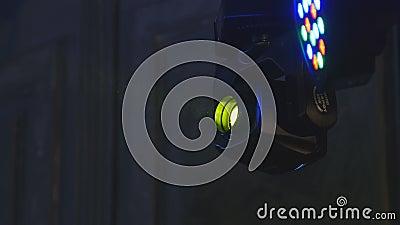 Luci variopinte della fase archivi video