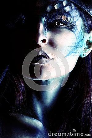 Free Lucifer Portrait Stock Image - 28590731