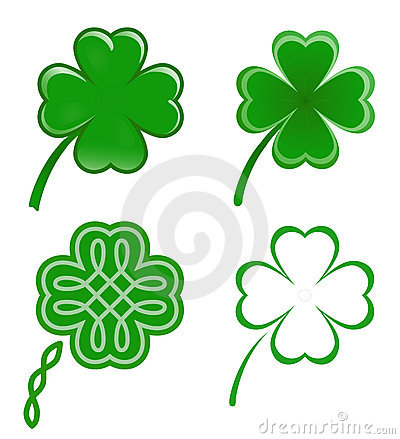 Free Lucky Clovers Stock Photos - 8094003