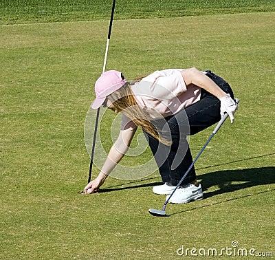 Lucky Lady Golfer