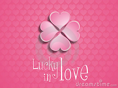 Lucky in love.
