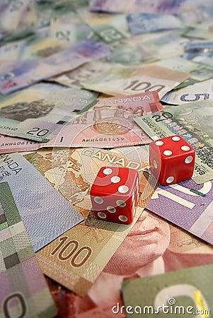 Lucky Seven on Canadian Dollar Bills