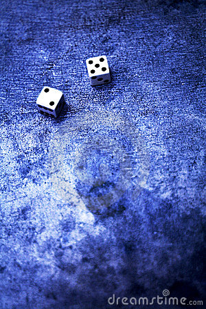 Free Lucky Seven Dice Royalty Free Stock Photo - 25635