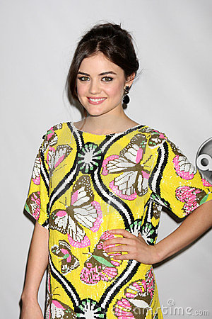 Lucy Hale Editorial Photography