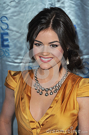 Lucy Hale Editorial Stock Image