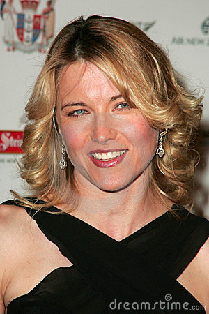 Lucy Lawless Editorial Stock Photo