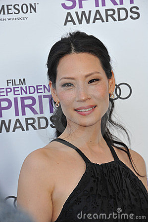 Lucy Liu Editorial Image