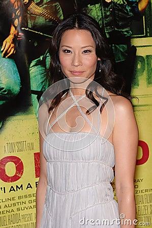 Lucy Liu Editorial Photo