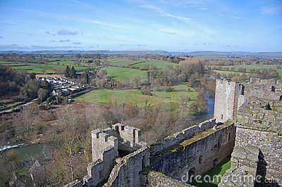 Ludlow castle and shropshire land