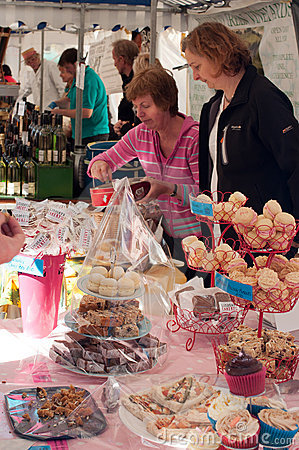 Ludlow Food Festival 2011 Editorial Image