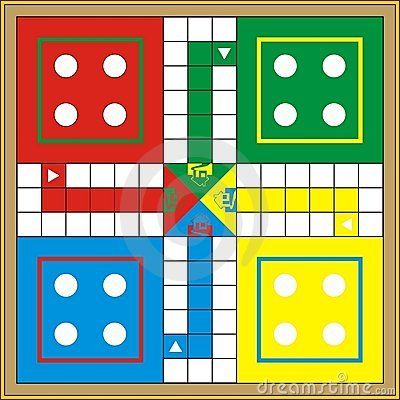 Free Ludo-Print & Gift Or Play Stock Photography - 4433972