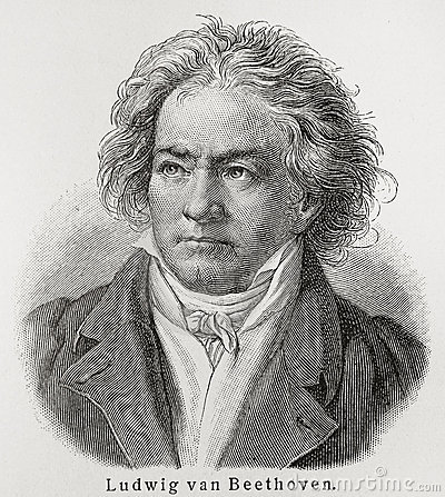 Ludwig van Beethoven Editorial Stock Photo