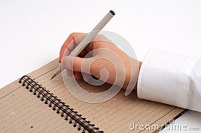 Ludzie biznesu do notatek.