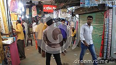 Ludzie związani z Chandi Market w Bogra, Bangladesz zbiory