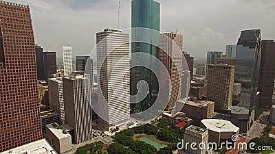 Luft-Texas Houston stock video