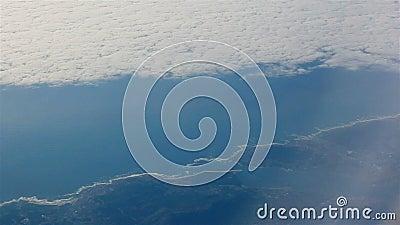 Luftbild Portugals Aussicht von der Porthole stock video