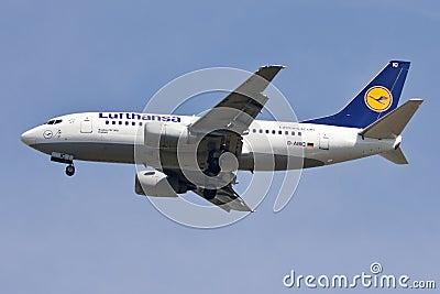 Lufthansa Editorial Stock Photo