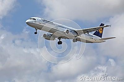 Lufthansa A321-200 Editorial Photography