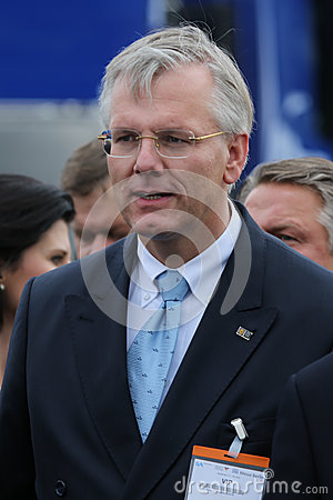 Lufthansa AG Chairman Dr. Christoph Franz Editorial Stock Photo