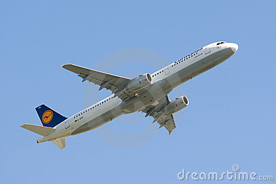 Lufthansa Airbus Editorial Photography