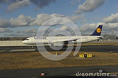 Lufthansa Airbus Editorial Image