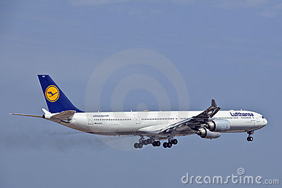 Lufthansa Airbus A340 D-AIHO Editorial Photo
