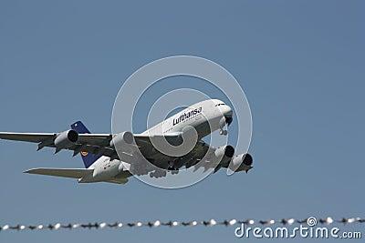 Lufthansa Airbus A380-800 Editorial Photography
