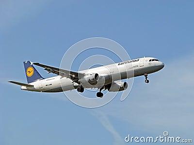 Lufthansa aircraft Editorial Photo