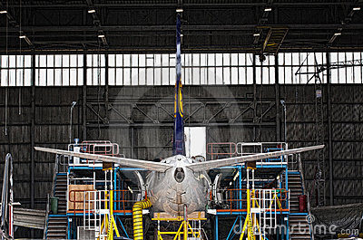 Lufthansa Technik Editorial Stock Photo